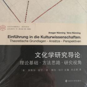 文化学研究导论:理论基础 方法思路 研究视角