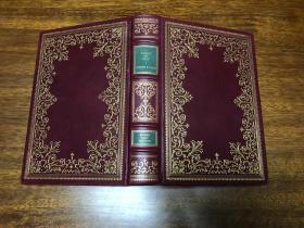 A world of love Franklin 真皮精装收藏版, 书口三面刷金(22k黄金) 能保存数百年的存档级别的无酸纸(有作者签名)