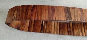 黄花梨腰带、木质细腻、纹路精美、做工大气、非常值得收藏