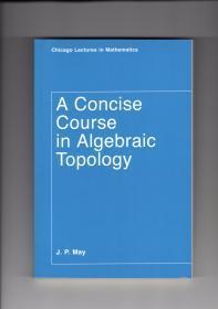 A Concise Course in Algebraic Topology 代数拓扑简明教程 (英文原版正版书)