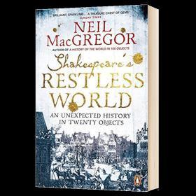 莎士比亚的动荡世界英文原版书 Shakespeares Restless World