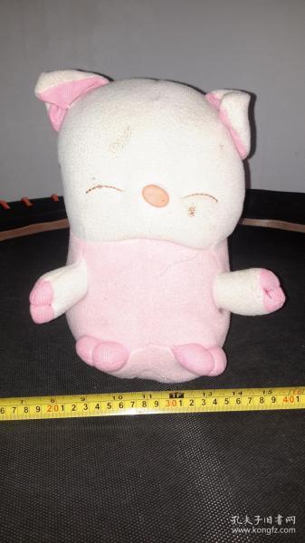 一个维尼熊毛绒绒玩具,小孩子抱着搂着摔着都行~