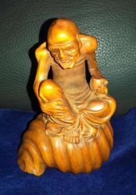 黄杨木雕 罗汉