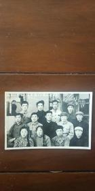 老照片 (吉林省长春市)榆树社教工作队凯旋于松花江畔留念 66.5.12