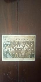 老照片 师生友谊 吉林医学院804全体同学 1984年