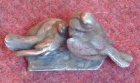 法国小铜雀 西洋收藏品 铜雕