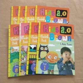 Kids Brown2.0 布朗儿童英语 Level 1级 练习册 1、2、3、5、7、8、9、10册(8本合售)