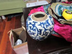 清代青花瓷器很漂亮