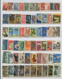 南斯拉夫早期邮票122枚旧