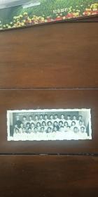 老照片 吉林农业大学农学系56-4版全体同学留影 五九。七。一