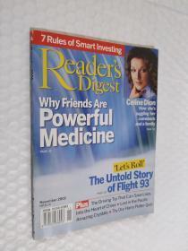 Readers Digest 读者文摘 2002年11月 英文原版