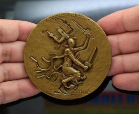 美国章牌设计师协会 59号章钱币收藏