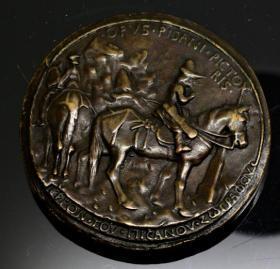钱币文艺复兴时期的章 1920年 9.5厘米 162克 非金属章