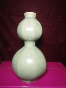 宋代越窑青瓷葫芦瓶