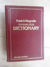 外文书:FUNK  WAGNAIIS  STANDARD  DESK  DICTIONARY  共878页 【精装】