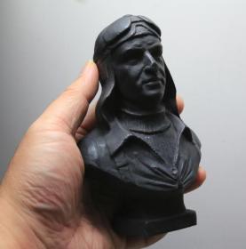 法国 老铜雕 俄罗斯飞行员 二战 苏联王牌飞行员阔日杜布