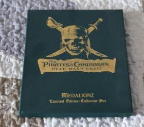 Pirates of Caribbean 加勒比海盗 纪念币 纪念章 杰克的罗盘