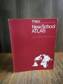 PHILIPS  NEW SCHOOL ATLANTA(FIFTY-NINTH EDITION)【彩印地图】