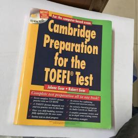 Cambridge Preparation for the TOEFL® Test Book with CD-ROM 剑桥准备TOEFL®考试用CD-ROM【外文原版,有光盘】