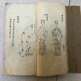 精品手抄药书一册全 图多,字体美,厚