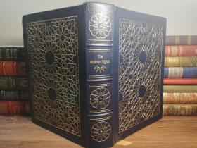 """1981大开本 The Arabian Nights Easton Press 一千零一夜 全皮装帧 三面刷金 双面烫金 插图版 伊东书局出版的 """"有史以来最伟大的100本书"""" 之一 27.53X19CM"""