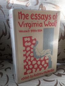 The Essays of Virginia Woolf volume 3: 1919 to 1924  《伍尔夫散文选卷三 》 英国版 精装厚本 馆藏