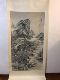 吴石仙 作品 安徽文物总店出 民国老画 六尺整纸 喜欢联系