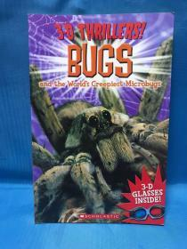 3-D Thrillers: Bugs and the World's Creepiest Microbugs  3D惊险片:虫类及令人毛骨悚然的微型虫类
