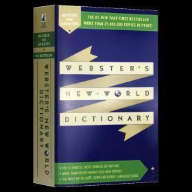 韦氏新世界英语词典 英文原版 Websters New World Dictionary