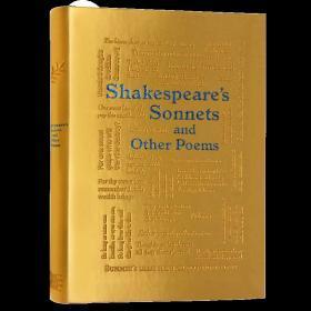 莎士比亚十四行诗和其他诗歌 英文原版 Shakespeares Sonnets and Other Poems
