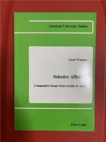 Selective Affinities: Comparative Essays from Goethe to Arden (德语作家与英语作家之比较)研究文集