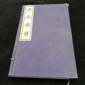 尹氏族谱(全四卷)民国12年