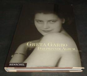 2手德文 Greta Garbo: Portraits from Her Private Collection 葛丽泰嘉宝 xdc59