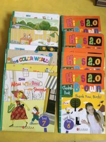 Kids Brown 布朗儿童英语2.0 Level 3(全10册 带练习册)20本合售
