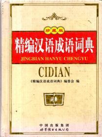 精编汉语成语词典