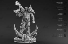 加尔鲁什/地狱咆哮魔兽争霸 30厘米