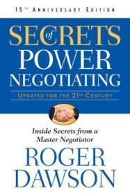 Secrets of Power Negotiating, 15th Anniversary Edition