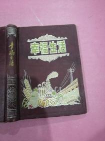 老日记本 幸福生活 精装 已使用 不缺页