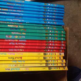 Hids    brown    2.0布儿童英语21本合售  。level 1五本五张光碟  level  2 四本    level   3五本   。level   4七本