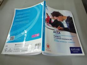 ACCA KAPLAN PUBLISHING UK PAPER F1 STUDY TEXT VALID FROM 1 SEPTEMBER 2017-31 AUGUST 2017