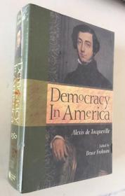 Democracy in America Alexis de Tocqueville 英文原版  精装  厚册 未拆封