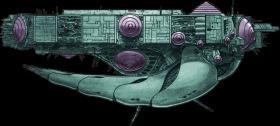 泰洛母舰 —— Tirolian Mothership 太空堡垒 超时空要塞