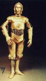 星球大战 中的机器人 30厘米高 1/6 C3PO
