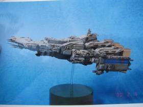 1/4000 超时空要塞 太空堡垒 SDF-1母舰 开卖