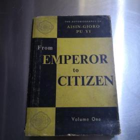 从皇帝到公民—我的前半生  上册