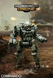 机甲战士 模型 即将完工 机甲战士OL 1234 手办  commando