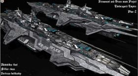 家园2菲亚利帝国 飞船模型