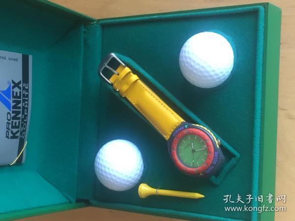 PRO KENNEX 肯尼士 人造革表带 石英男女手表 带高尔夫计分功能  (企业定制)
