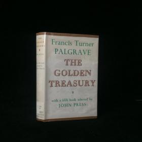 1964年  The Golden Treasury of the Best Songs and Lyrical Poems in the English Language (Oxford Standard Authors) by Francis Turner Palgrave, John Press 精装 大32开