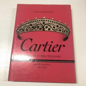 cartier jewelers extraordinary with 493illustrations 198in colour(卡地亚珠宝非凡与493插图198的颜色)